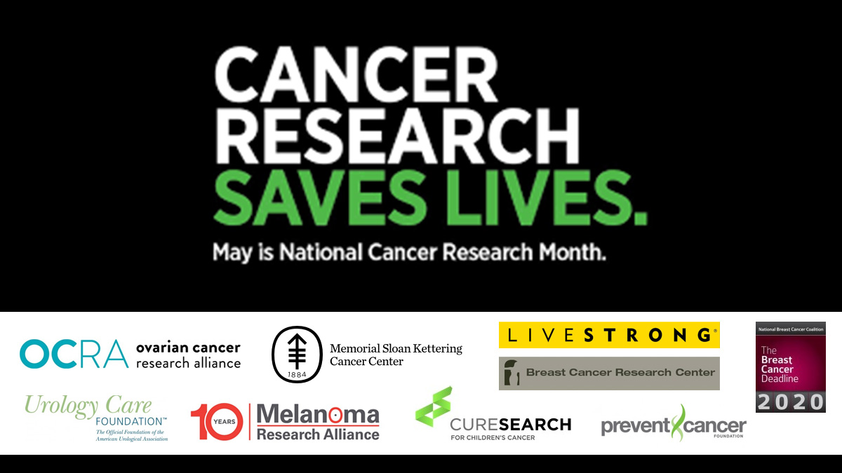 National Cancer Research Month America S Charities