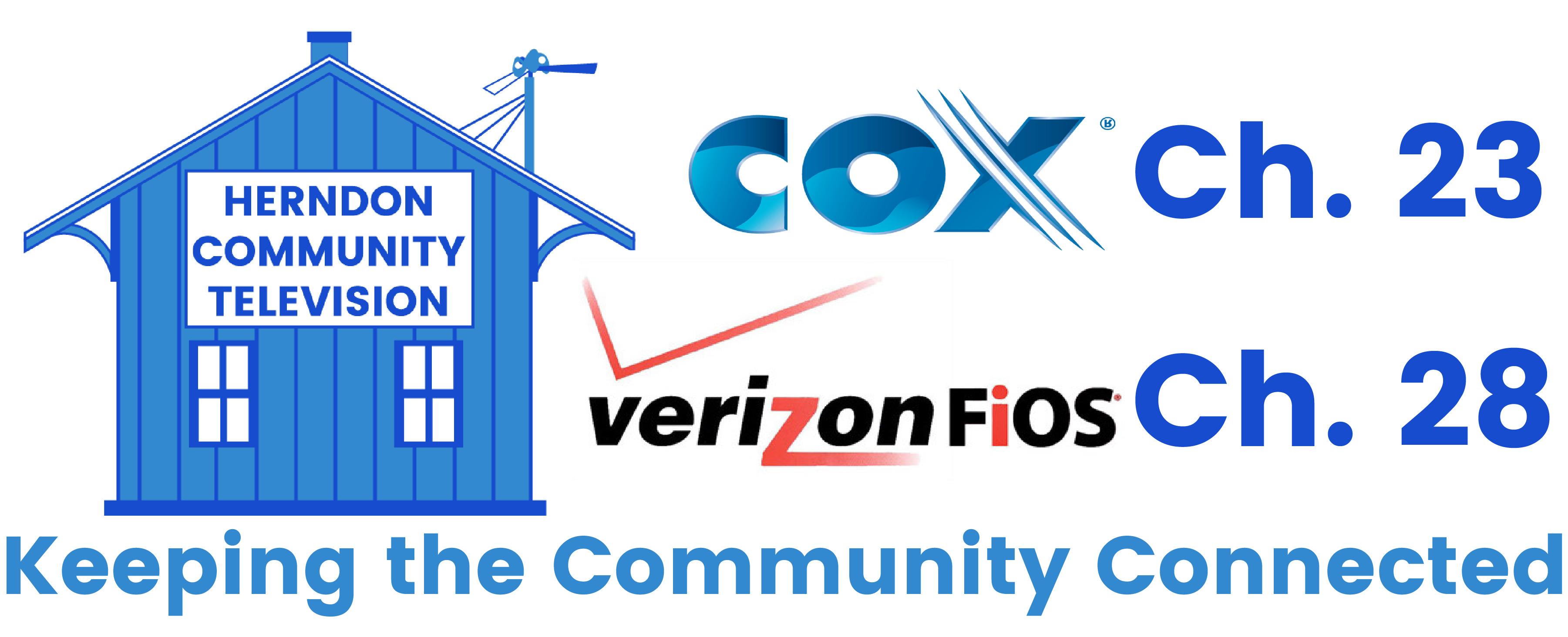 Herndon Community Television  Logo