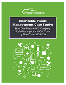 Charitable funds management case study