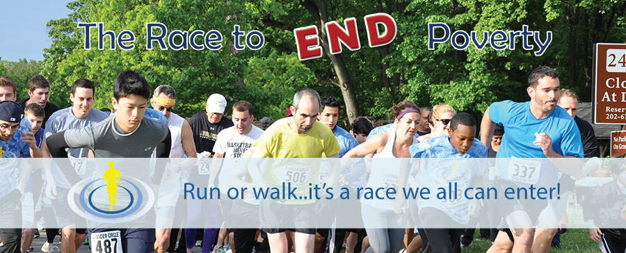 On Your Mark, Get Set - Race to End Poverty on April 26th