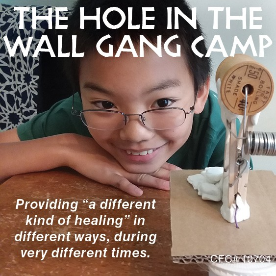 Paul Newman's Hole in the Wall Gang Camp Pivots Amid a Pandemic, Providing Hope and Healing to Seriously Ill Children and Families
