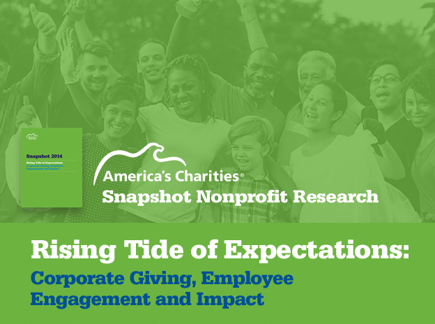 Snapshot Nonprofit Research - Rising Tide of Expectations: Corporate Giving, Employee Engagement and Impact