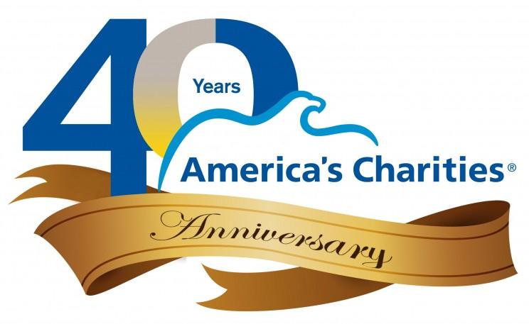 America's Charities 40th Anniversary logo