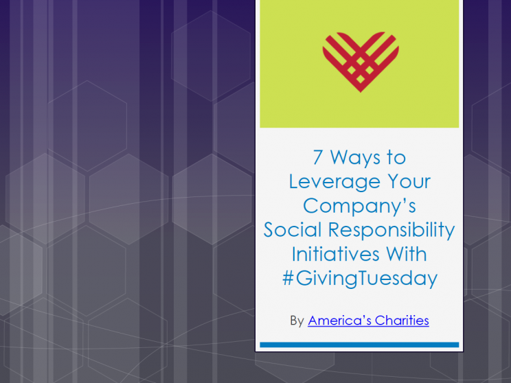7 Ways to Leverage Giving Tuesday for CSR