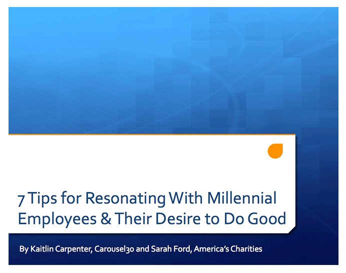 Engaging Millennial Employees