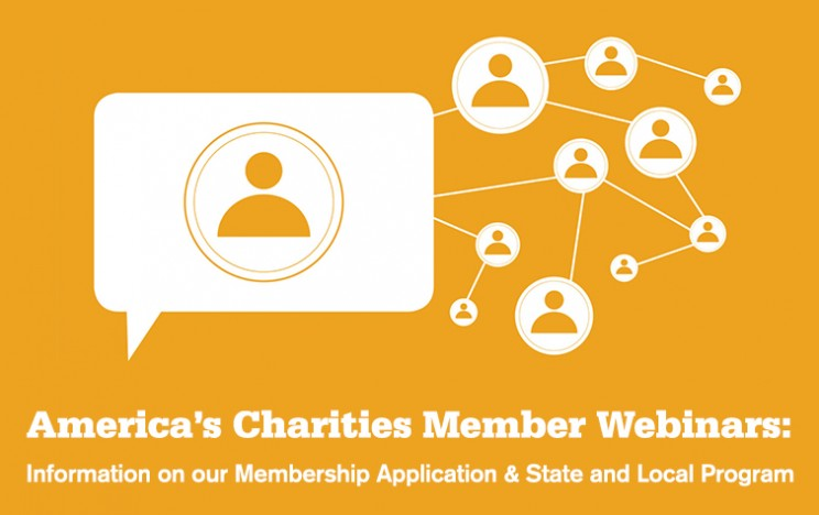 America's Charities Member Webinars