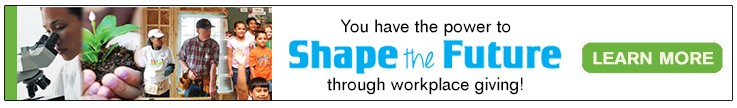 Shape the Future Through Workplace Giving