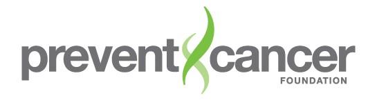 Prevent Cancer Foundation logo