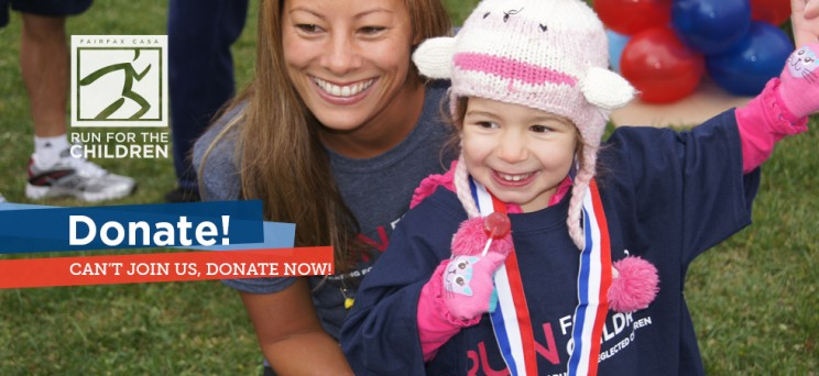 Last Chance to Register for Fairfax CASA's 4th Annual Run for the Children