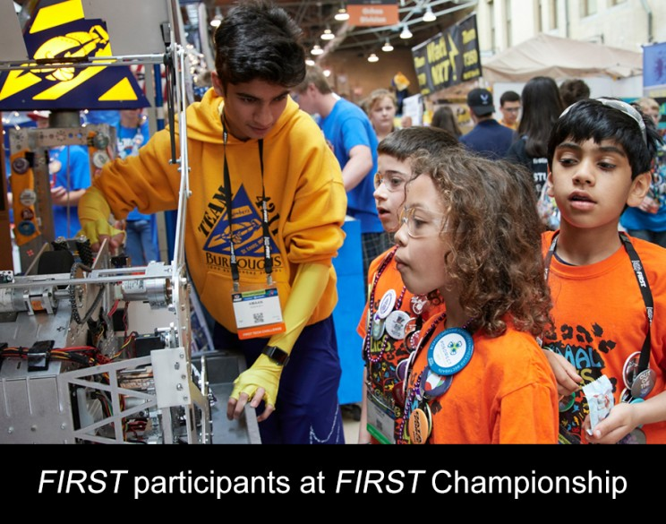 FIRST participants at FIRST Championship