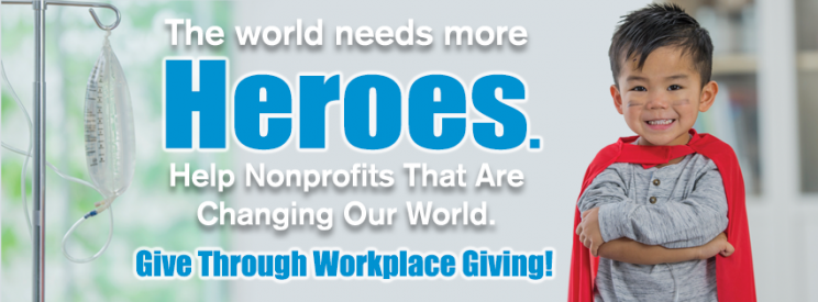 Support nonprofits through workplace giving