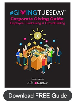 #GivingTuesday Corporate Giving Guide: Employee Fundraising and Crowdfunding