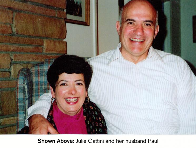 FNIH client Julie Gattini and her son