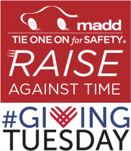 MADD Giving Tuesday 2018