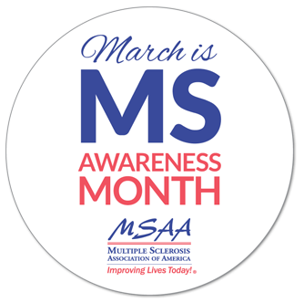 MSAA - March MS Awareness Month