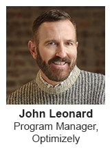 John Leonard - Program Manager at Optimizely