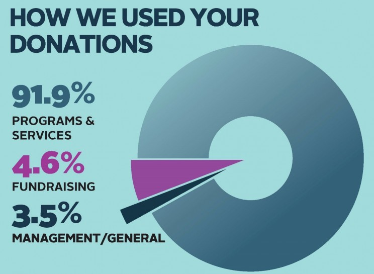 How Orbis uses donations