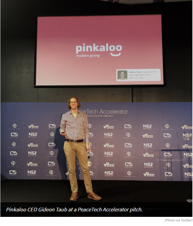 Pinkaloo founder and CEO, Gideon Taub