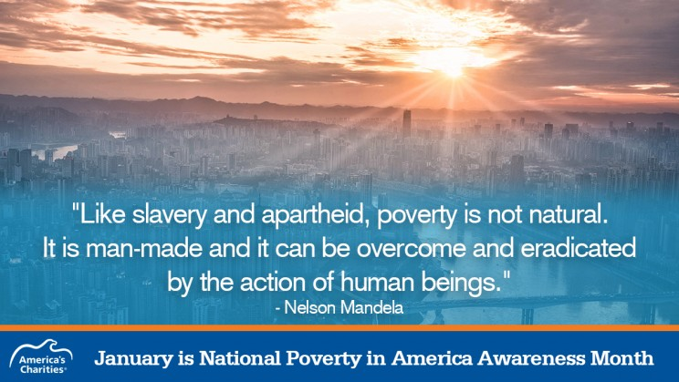 January is National Poverty in America Awareness Month