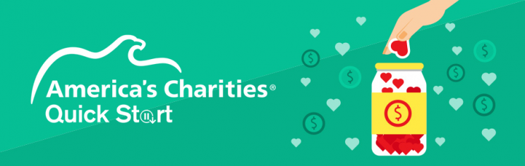 America's Charities Quick Start employee giving crowdfunding solution
