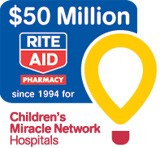 Record-Breaking $6.8 Million Raised by Rite Aid for Children's Miracle Network Hospitals