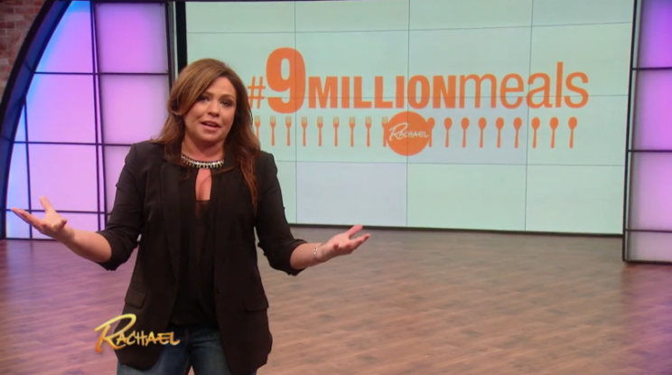 Rachel Ray 9 Million Meal Challenge