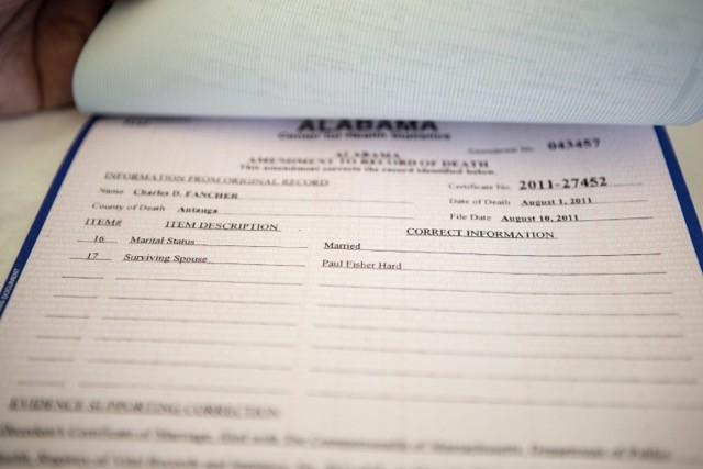 Alabama recognizes SPLC client Paul Hard as surviving spouse on ...