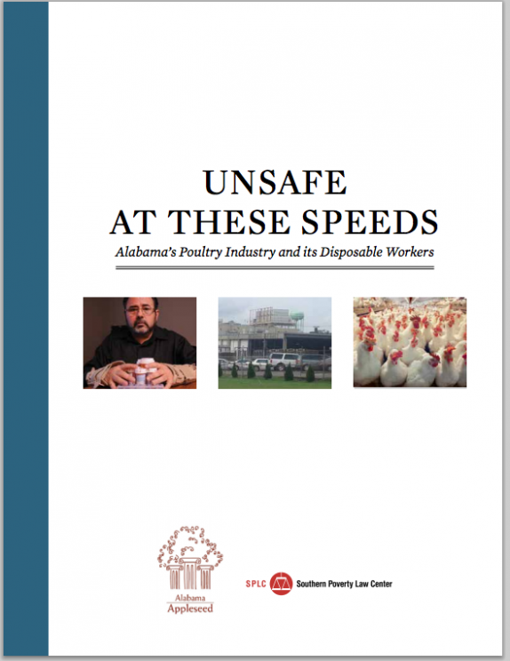 SPLC Report: UNSAFE  AT THESE SPEEDS