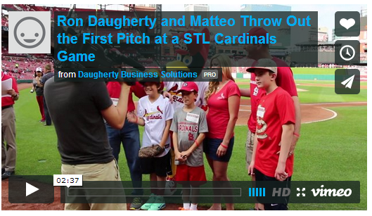 Corporate Philanthropy: A First Pitch Worth Seeing