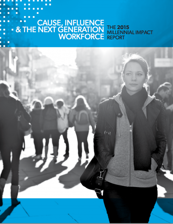 The Millennial Impact Report 2015