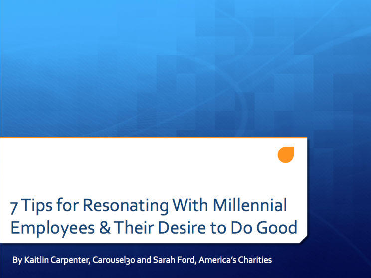 7 tips Resonate with Millennials