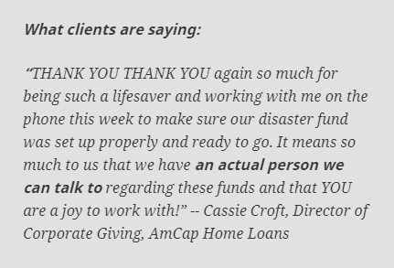 What EAF clients are saying - AmCap