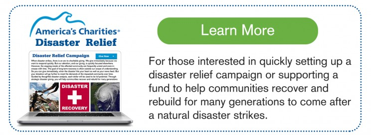Disaster Relief and Recovery Campaigns and Fund