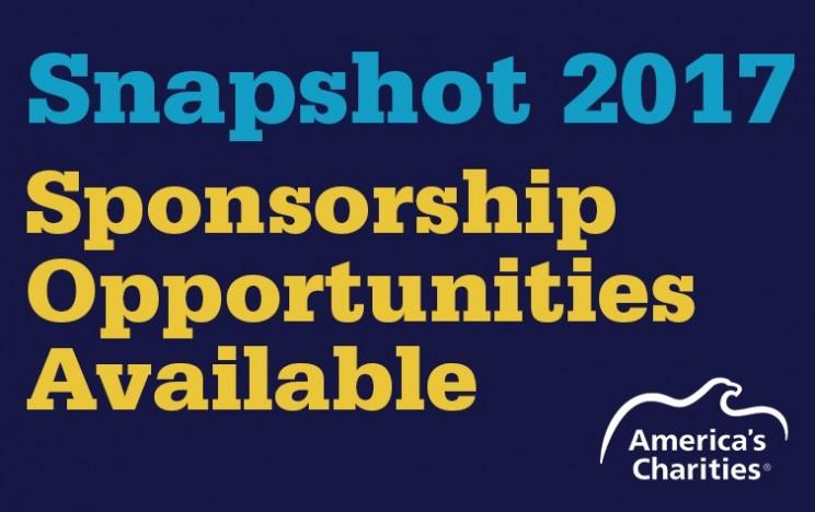 Snapshot 2017 sponsorship opportunities