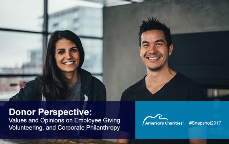 Donor perspective, values and opinions on giving and volunteering