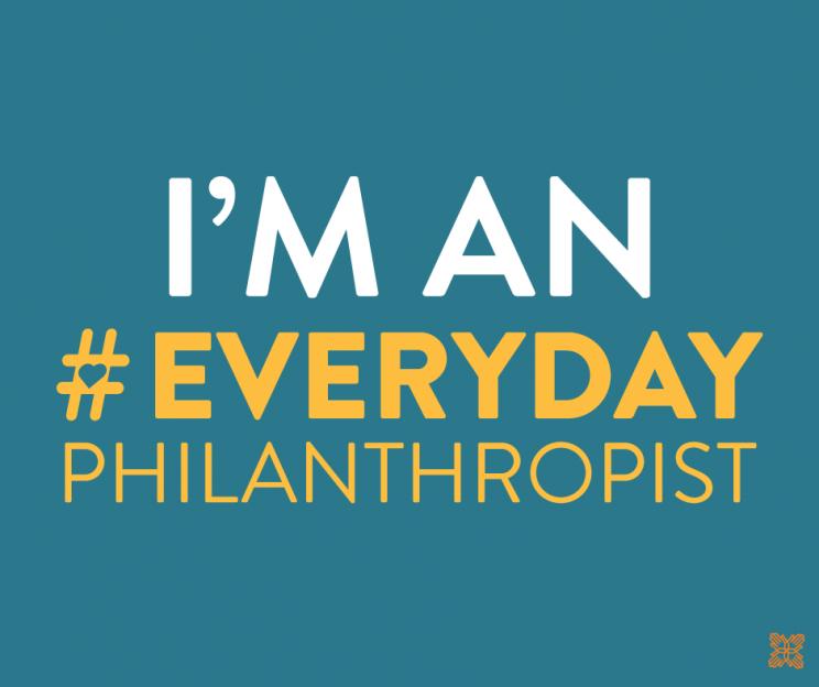 #EverydayPhilanthropist