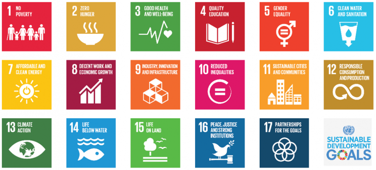 UN 17 Sustainable Development Goals SDGs