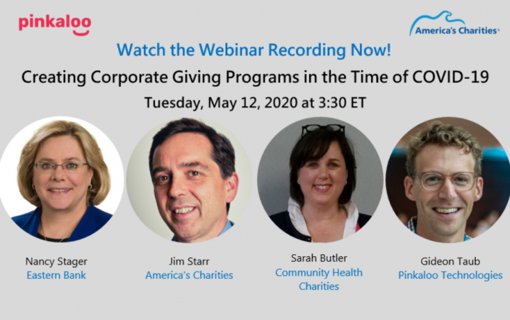 Watch the America's Charities-Pinkaloo Webinar Recording Now!