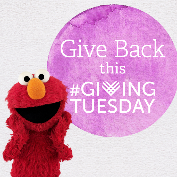 Sesame Street Yellow Feather Fund giving tuesday
