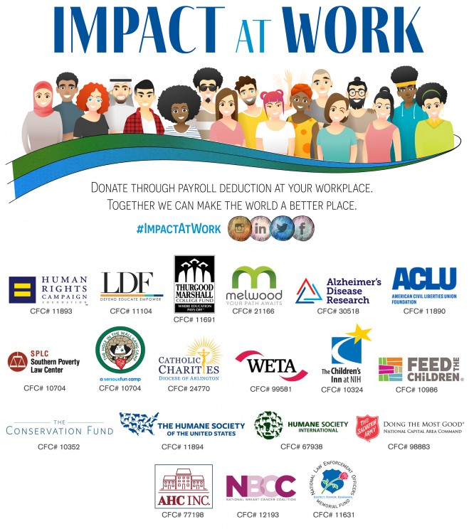 Donate via Payroll Deduction to Your Favorite Charities through Workplace Giving to Make the World a Better Place