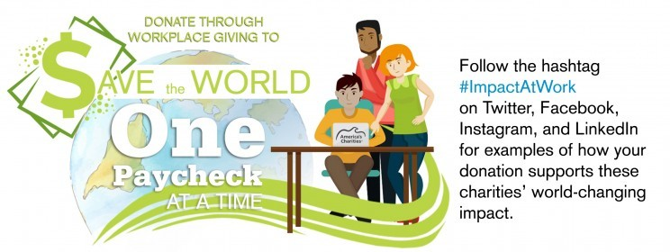 Donate to America's Charities and Help Save the World, One Paycheck at a Time