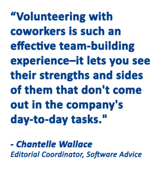Volunteerism Quote - Chantelle Wallace