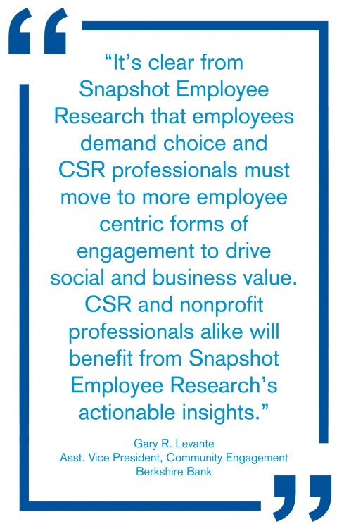 Snapshot Employee Research testimonial