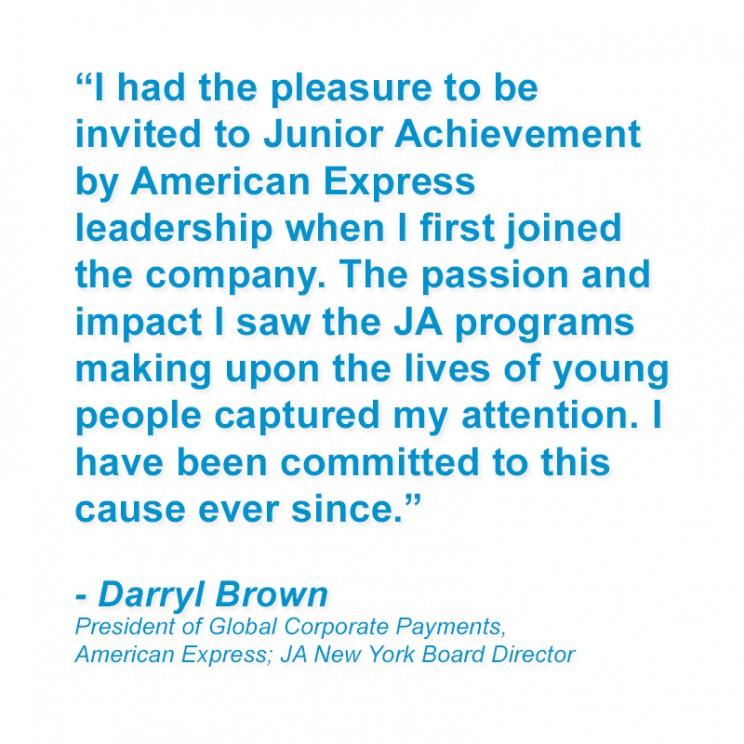 JA New York & American Express