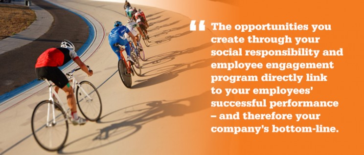 Employee Engagement, employee giving & CSR