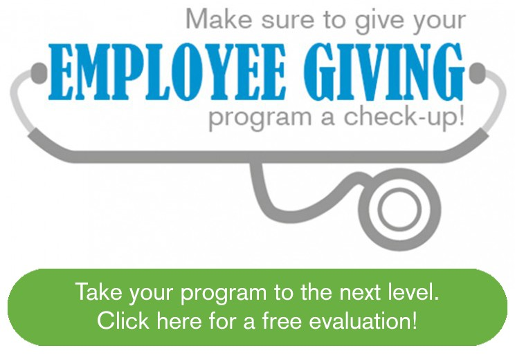 Free employee workplace giving program evaluation