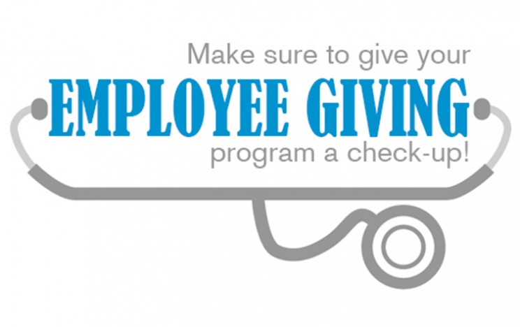 Employee giving program check-up