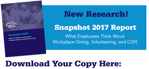 Snapshot 2017: What US Employees Think about Workplace Giving, Volunteering, and CSR