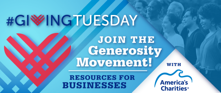 Celebrate #GivingTuesday, the international day of giving