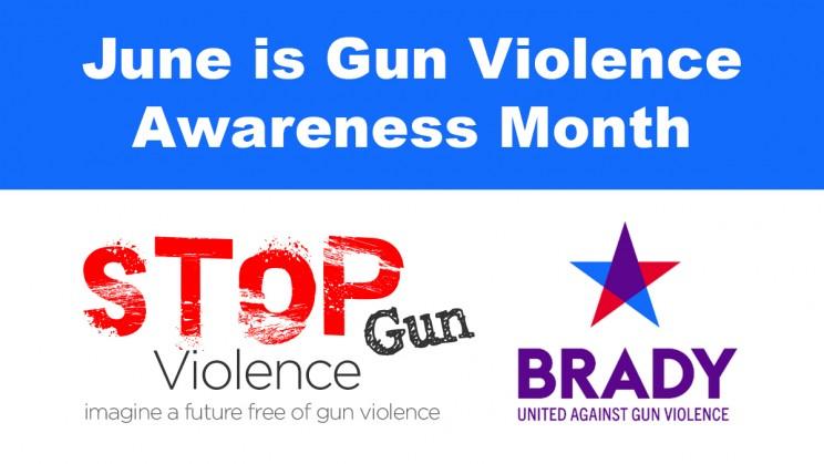 June is Gun Violence Awareness Month